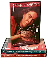 Jeff McBride - The Art of Card Manipulation - Set (Vols. 1-3) - DVD